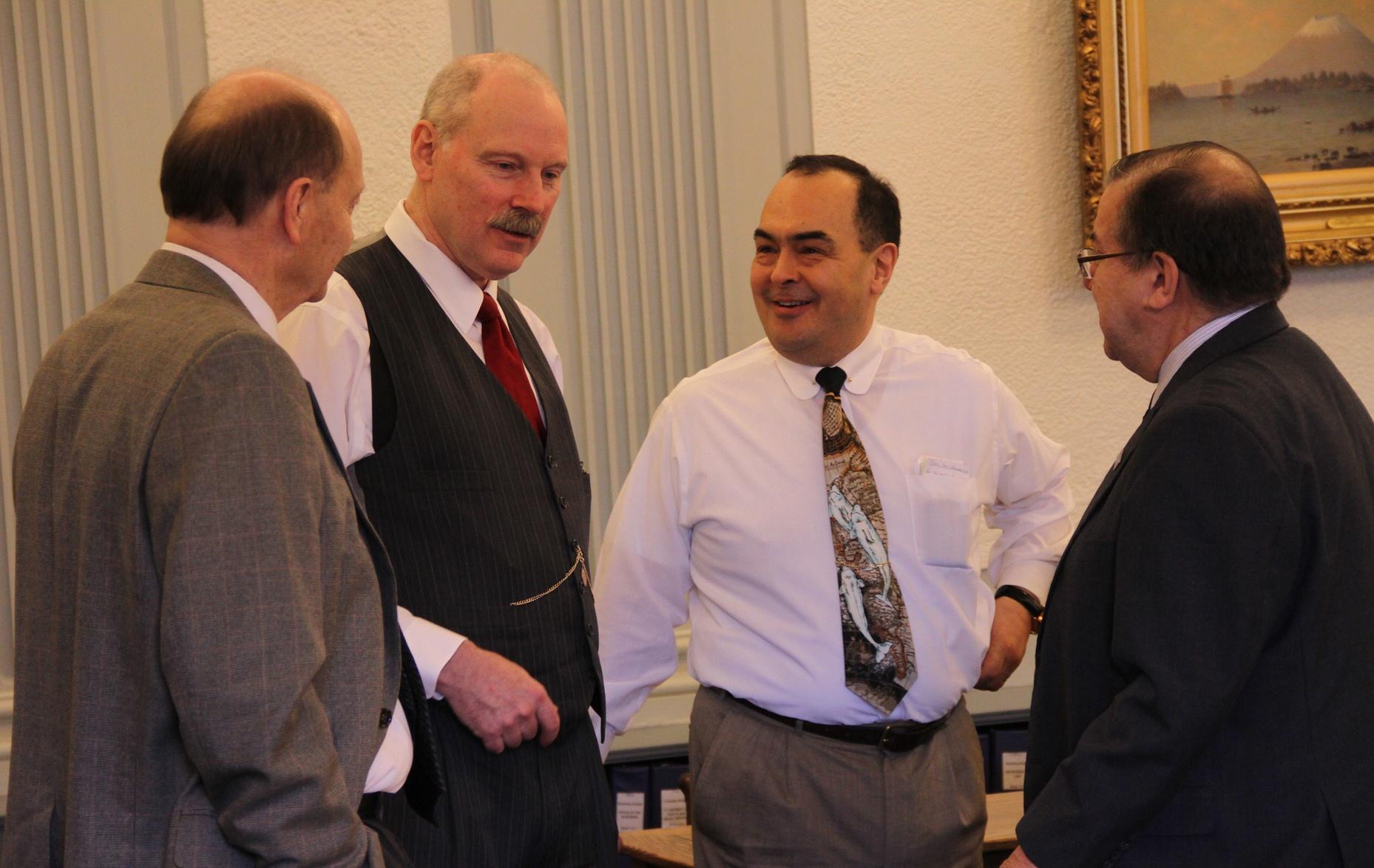 Senate Finance Committee - Senators Thomas, Stedman, Olson and Hoffman