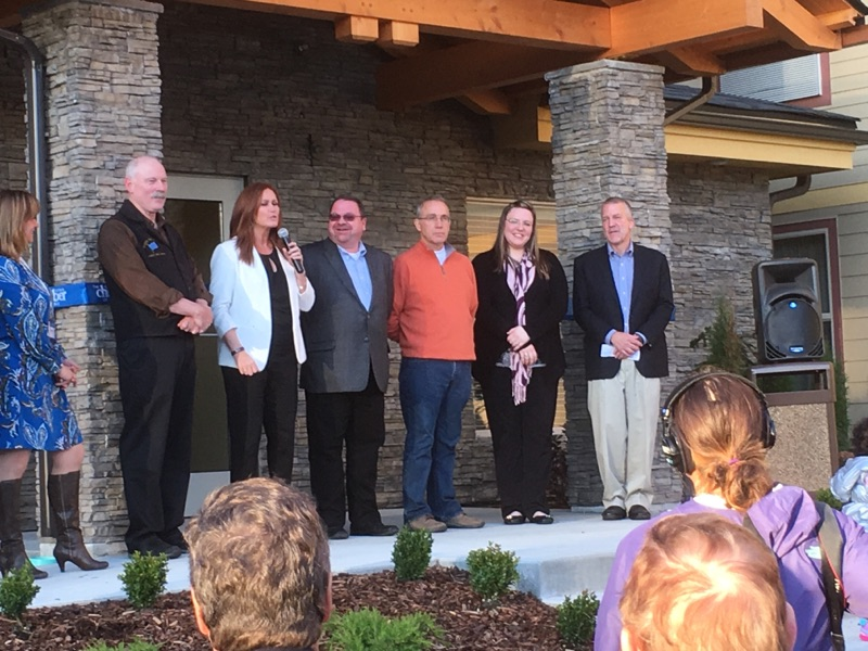 Senator Stedman at the Grand Opening of the Aspen Hotel in Sitka during the annual State Chamber