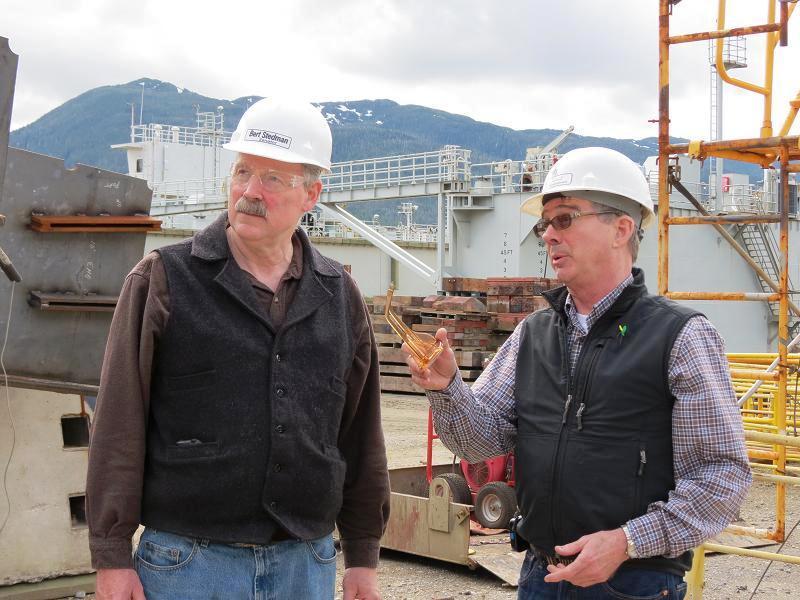 Touring the Ketchikan Shipyard with Doug Ward