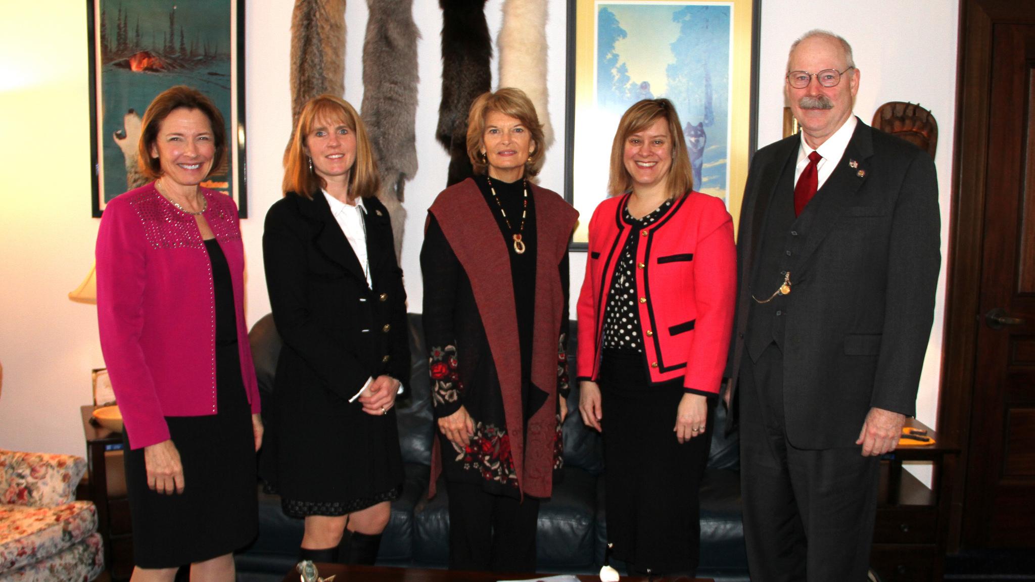 2019 Leadership with Senator Murkowski