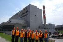 Senator Stedman and other Energy Council conferees tour the SaskPower Boundary Dam