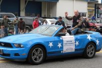 Senator Stedman in the Ketchikan Fourth of July Parade 2012